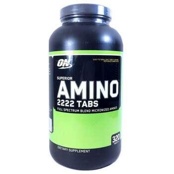 Купить Superior Amino 2222 Tabs 320 Tablets (Оптимум Нутришн Улучшенн...