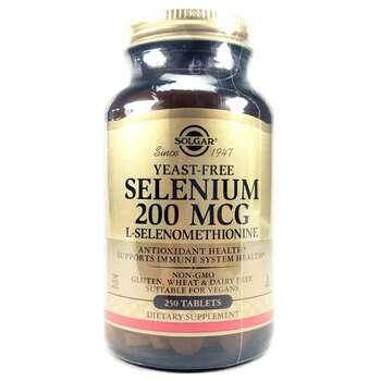 Купить Solgar Selenium 200 mcg 250 Tablets