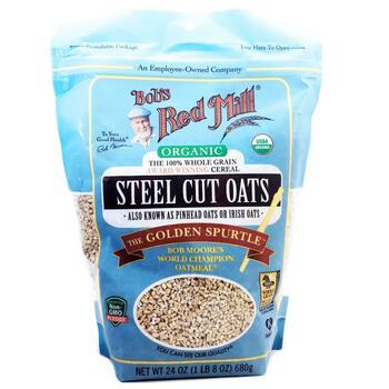 Купить Bob's Red Mill Organic Steel Cut Oats 680 g