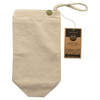 Купить Recycled Cotton Canvas Lunch Sack 1 Bag 7