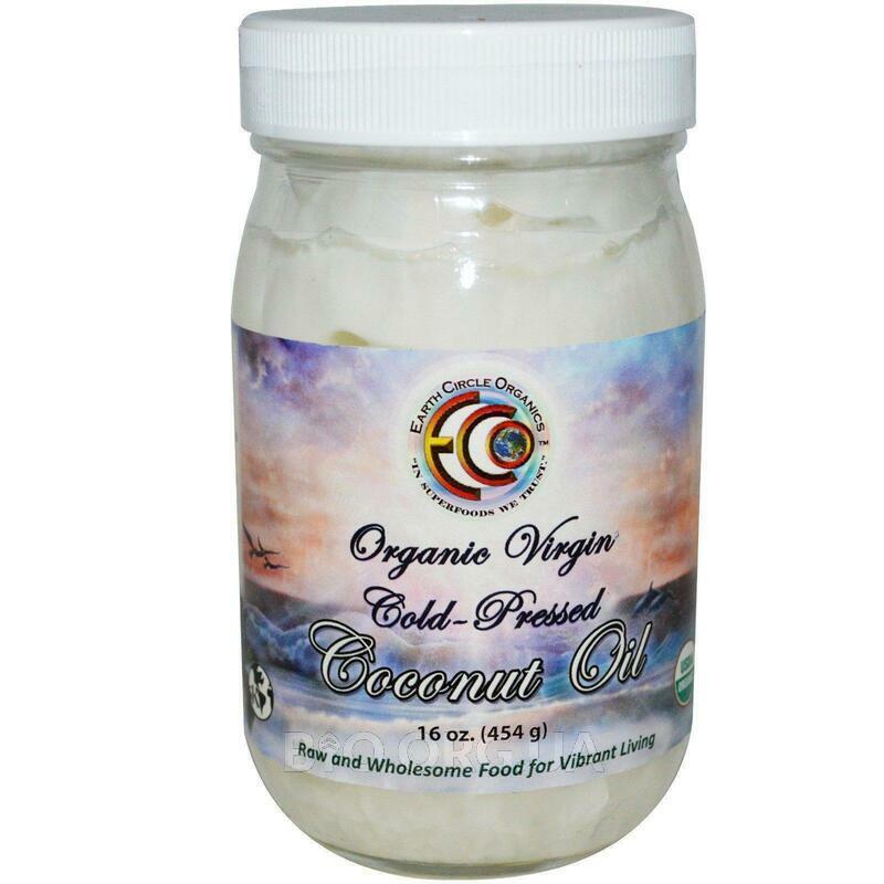 Coconut Oil Organic Virgin 16 454 g фото товара