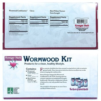 Купить Kroeger Herb Wormwood Kit 5 Piece Kit