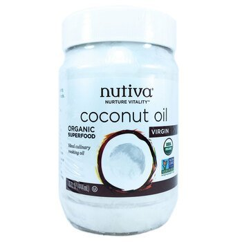 Купить Nutiva Organic Virgin Coconut Oil 444 ml