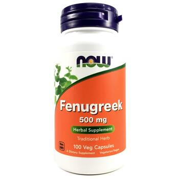 Купить Now Foods Fenugreek 500 mg 100 Capsules