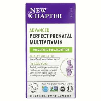 Купить New Chapter Perfect Prenatal Multivitamin 192 Tablets
