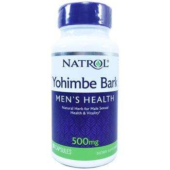 Купить Natrol Yohimbe Bark 500 mg 90 Capsules