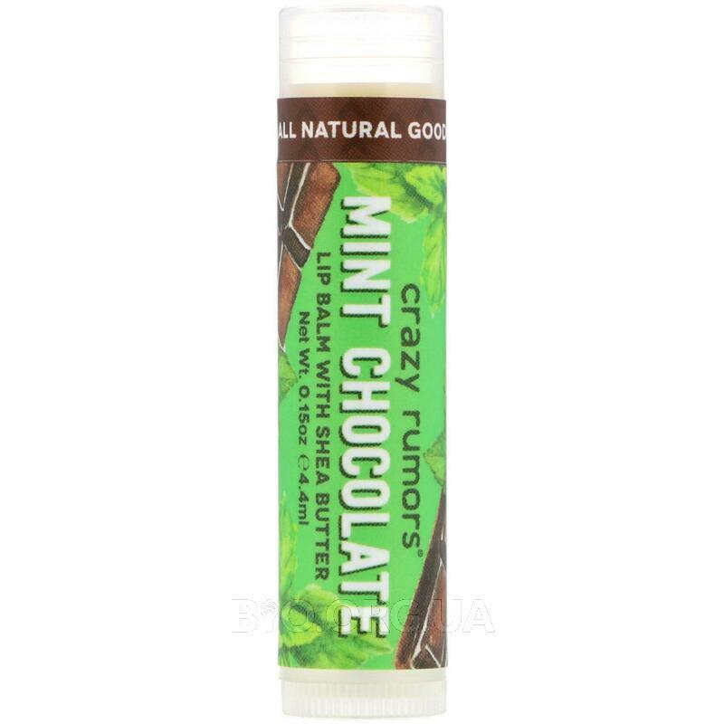 Крейзи Раморс бальзам для губ мятный шоколад 4.2 г фото товара