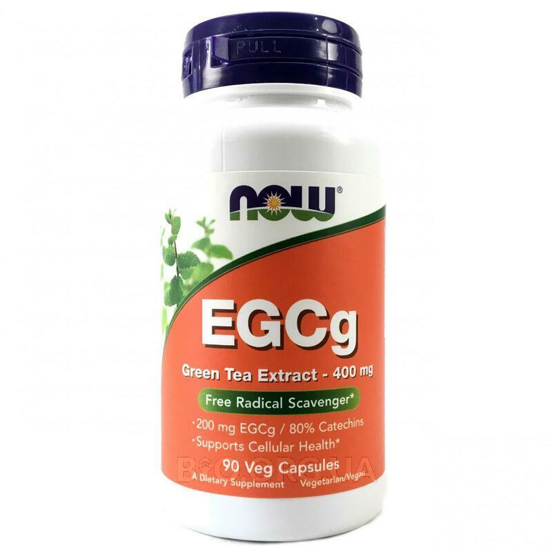 ЭГКГ экстракт зеленого чая 400 мг 90 капсул фото товара