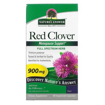 Купить Red Clover 900 mg 90 Vegetarian Capsules ( Красный клевер 900 ...
