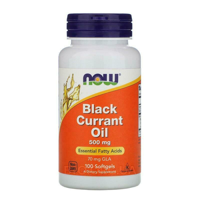 масло черной смородины 500 мг 100 капсул фото товара