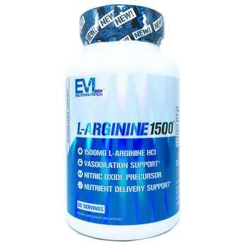 Купить EVLution Nutrition L-Arginine 1500 mg 100 Capsules