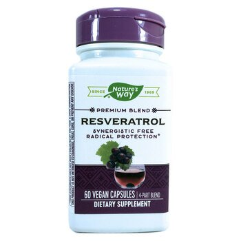 Купить Nature's Way Resveratrol 60 Veggie Caps