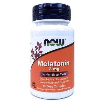 Купить Melatonin 3 mg Healthy Sleep Cycle 60 Veg Capsules ( Мелатонін...