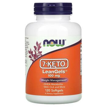 Купить Now Foods 7-Keto LeanGels 100 mg 120 Softgels