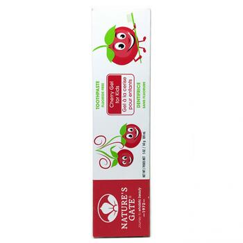 Купить Natures Gate Cherry Gel for Kids Natural Toothpaste 141 g (Нат...