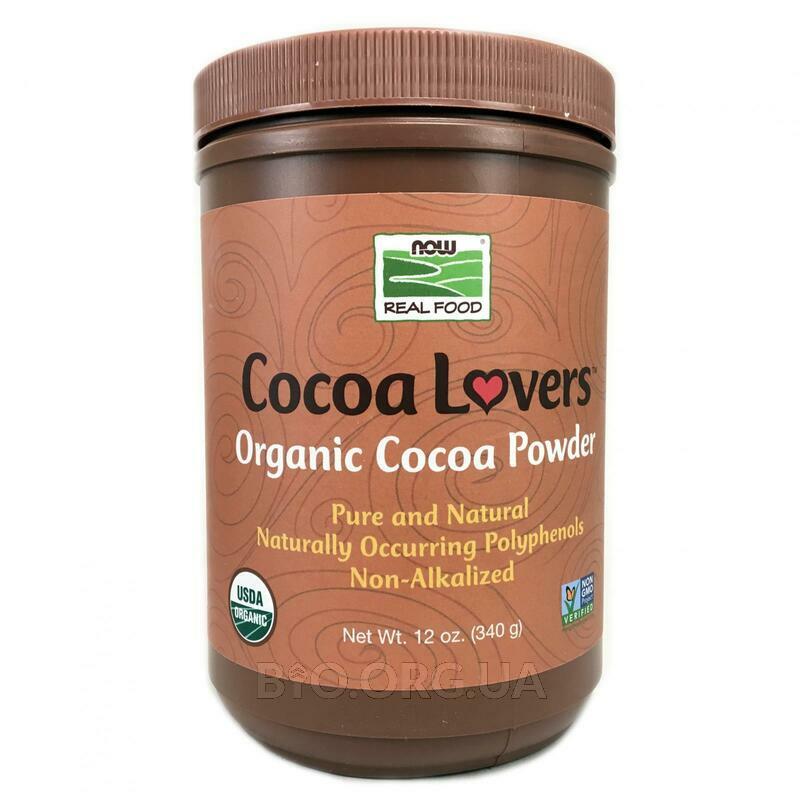 Органический какао порошок 340 г фото товара