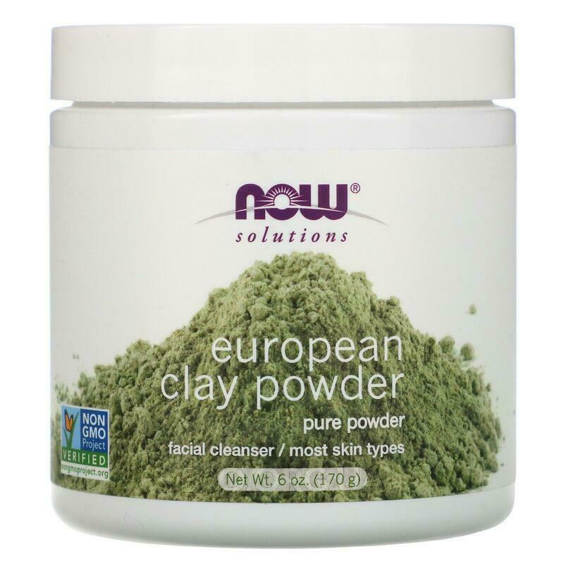 Now Foods Solutions European Clay Powder 170 g
