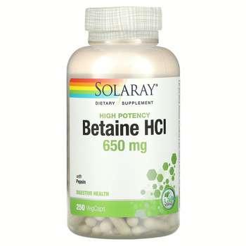Купить HCL with Pepsin 650 mg 250 Capsules