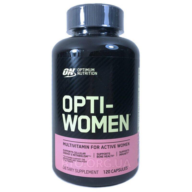 Оптимум Нутришн Опти Вумен мультивитамины для женщин 120 Капсул фото товара