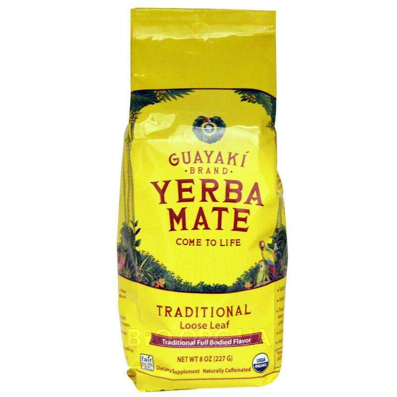 Yerba Mate Traditional Loose Leaf 8 227 g фото товара