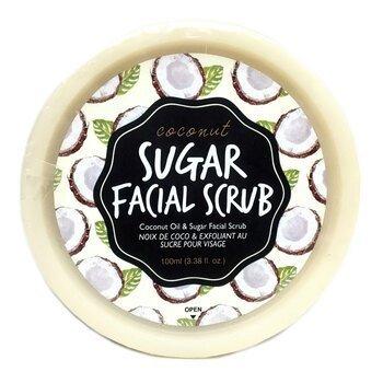 Купить Coconut Sugar Facial Scrub 100 ml (Кокосовий цукровий скраб дл...
