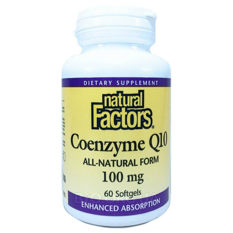 Коэнзим  Q10 100 мг 60 желатиновых капсул фото товара