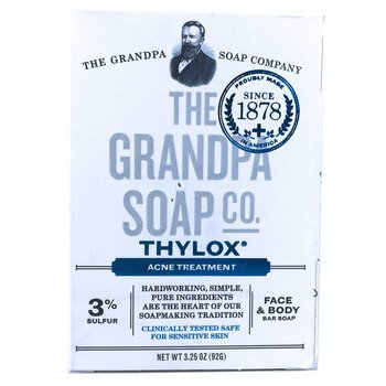 Купить Grandpas Thylox Acne Treatment Soap with Sulfur 92 g (Грендпас...