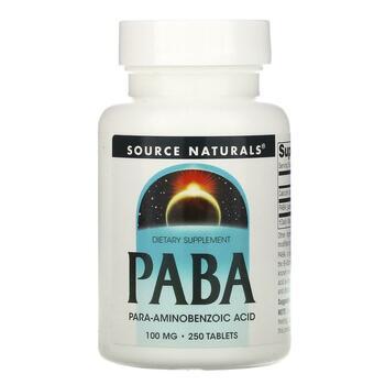 Купить PABA 100 mg 250 Tablets ( PABA 100 мг 250 таблеток)