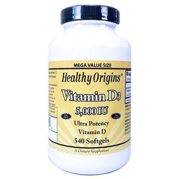 Купить Vitamin D3 5000 IU 540 Softgels