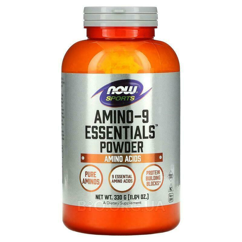 Спортивная смесь из 9 незаменимых аминокислот БЦАА 330 г фото товара