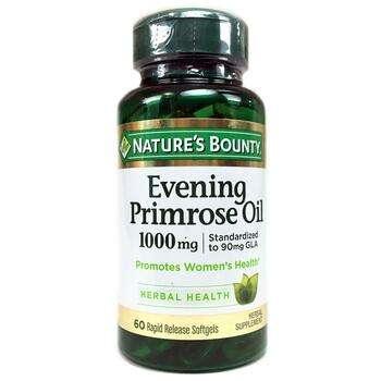 Купить Nature's Bounty Evening Primrose Oil 1000 mg 60 Rapid Release ...