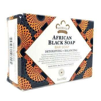 Купить African Black Soap Bar 141 g (Нубіан Херітеч Африканське чорне...