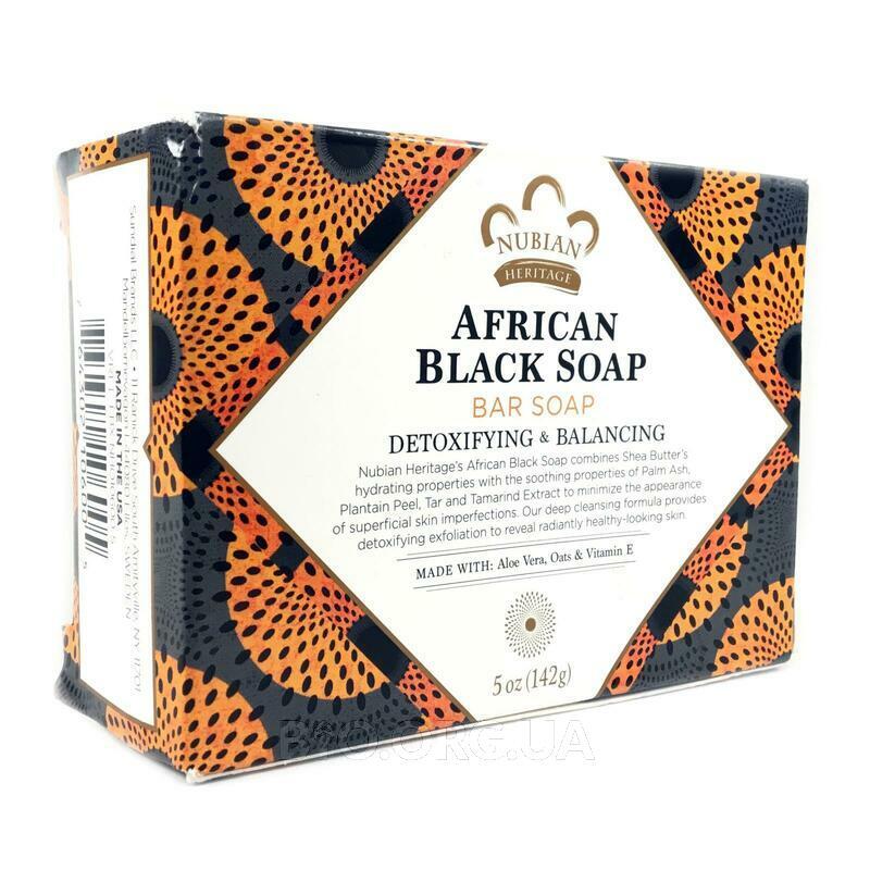 Африканское черное мыло 141 г фото товара