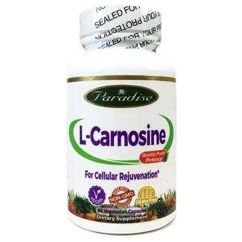 Купить Paradise Herbs L-Carnosine 60 Vegetarian Capsules