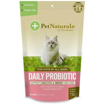 Купить Pet Naturals of Vermont Daily Probiotic For Cats 30 Chews 36 g