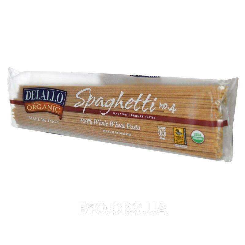 Spaghetti No. 4 0 Organic Whole Wheat Pasta 16 454 g фото товара