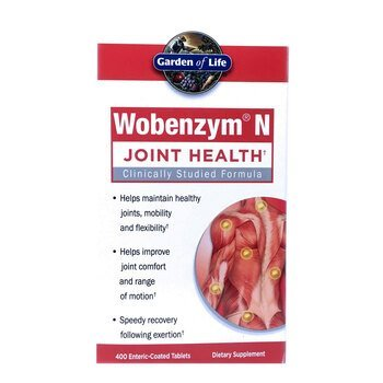 Купить Wobenzym N Joint Health 400 Enteric-Coated Tablets