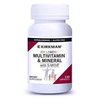Купить Детские мультивитамины и минералы с 5-MTHF 120 капсулами