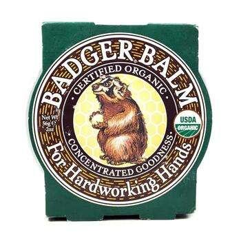 Купить Badger Balm For Hardworking Hands 56 g (Бадгер Бальзам для пра...