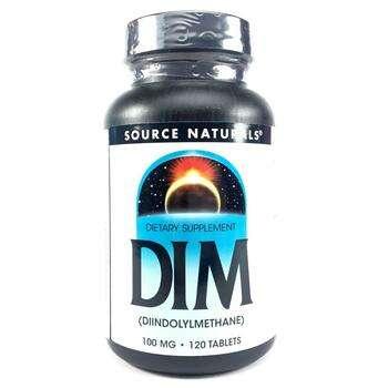 Купить DIM Diindolylmethane 100 mg 120 Tablets ( DIM дііндолілметан 1...