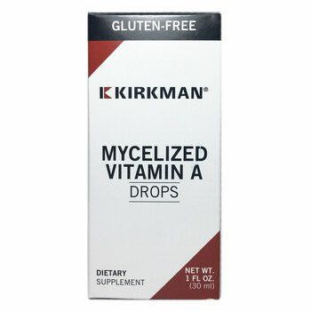 Купить Kirkman Mycellized Vitamin A Liquid 30 ml