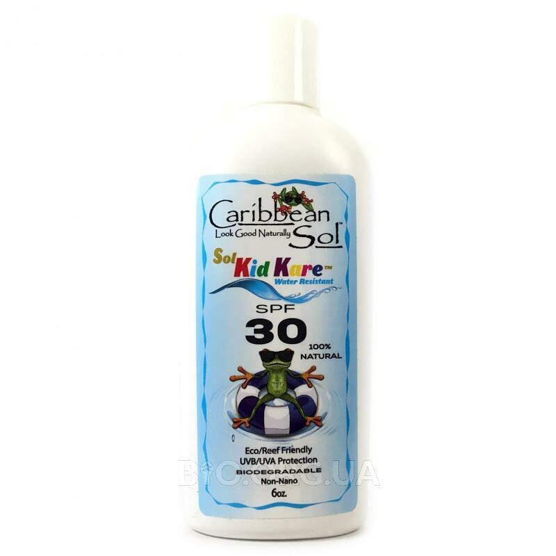 Солнцезащитный крем для детей SPF 30 Водостойкий 177 мл фото товара