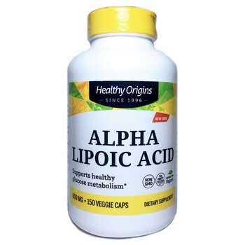 Купить Alpha Lipoic Acid 600 mg 150 Capsules (Хелсі Оріджінс Альфа лі...