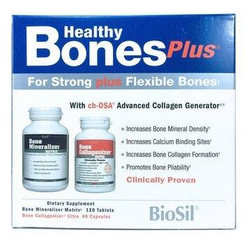 Купить BioSil by Natural Factors Healthy Bones Plus Two-Part Program