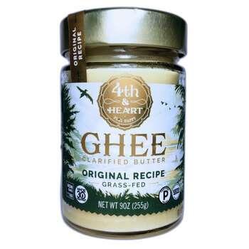 Купить 4th & Heart Ghee Clarified Butter Grass-Fed Original Recipe 255 g