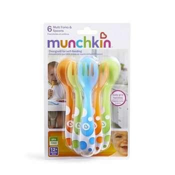 Купить Multi Forks Spoons 12 Months 6 Pieces