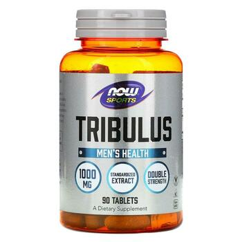 Купить Now Foods Sport Tribulus 1000 mg 90 Tablets
