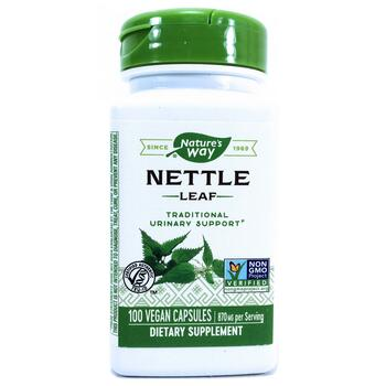 Купить Nature's Way Nettle Leaf 435 mg 100 Vegetarian Capsules
