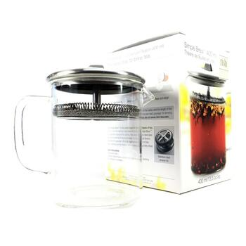 Купить Rishi Tea Simple Brew Loose Leaf Teapot 400 ml