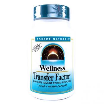 Купить Wellness Transfer Factor 125 mg 60 Veggie Caps (Транфер Фактор...